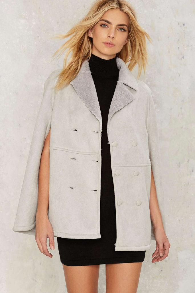 Chase Shearling Cape