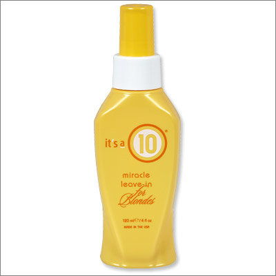to je a 10 Miracle Leave-in For Blondes
