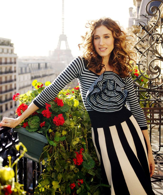 Štýl Lessons from Carrie Bradshaw - LEAD