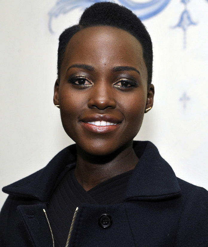 Lupita Nyong'o attends the W Magazine celebration of The 'Best Performances' Portfolio and The Golden Globes with Cadillac and Dom Perignon at Chateau Marmont on January 9, 2014 in Los Angeles, California.