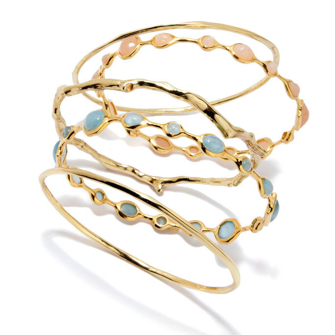 Ippolito 18-karat gold bangle set