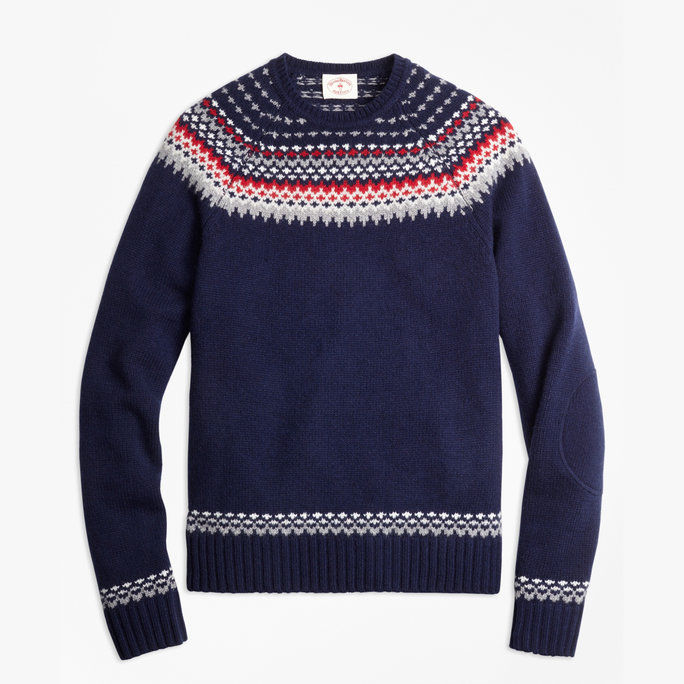 Brooks Brothers Fair Isle Sweater