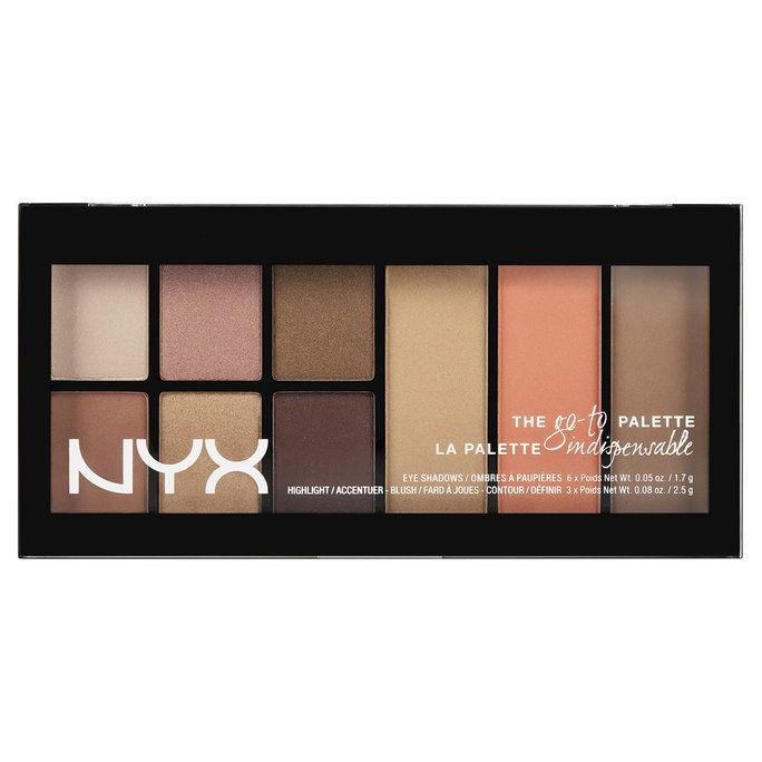 NYX Go To Eyeshadow Palette in Wanderlust