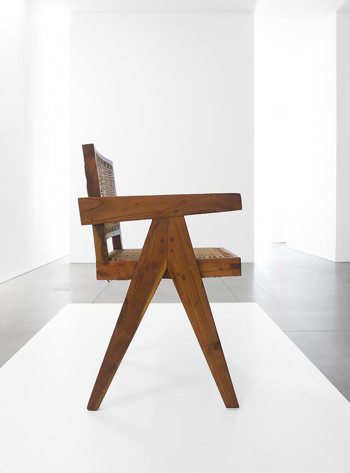 Epocă ▾ Teak Conference Chair by Pierre Jeanneret for Chandigarh
