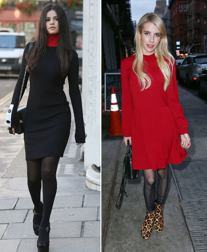 TK Celebrity Looks That Have Us Saying Yes to Tights