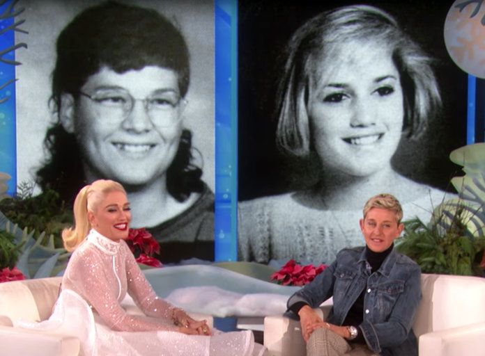 Blake Shelton and Gwen Stefani High School Yearbook Ellen - Embed