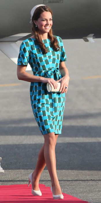 Kate Middleton Best Outfits - Jonathan Saunders dress