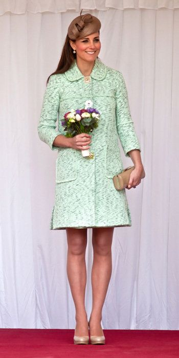 Kate Middleton Best Outfits - Mulberry coat