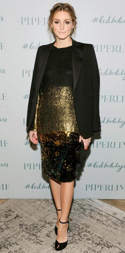 Olivia Palermo in Piperlime Collection and Milly