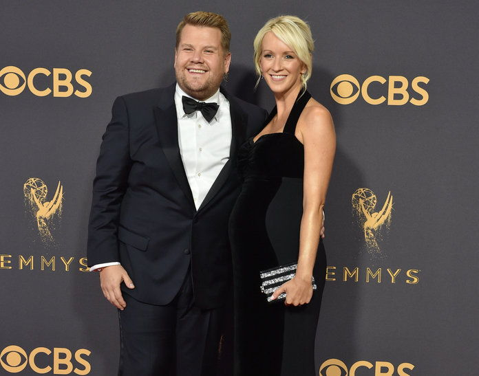 james Corden and Wife - LEAD