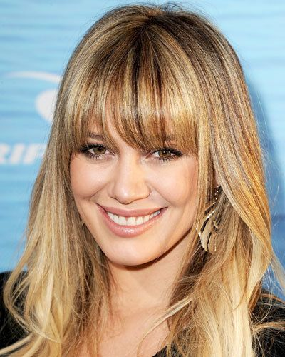 # 5 Hilary Duff's Long Bangs