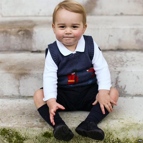 Principe George Christmas Pictures