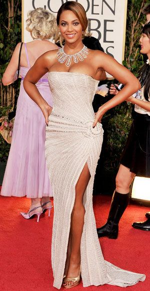 Beyonce Knowles - The Best Golden Globes Gowns of All Time - Elie Saab