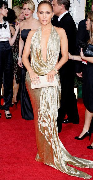 Jennifer Lopez - The Best Golden Globes Gowns of All Time - Marchesa