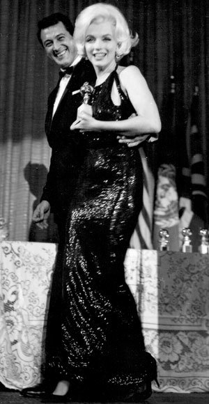 Marilyn Monroe - The Best Golden Globes Gowns of All Time - Norman Norell