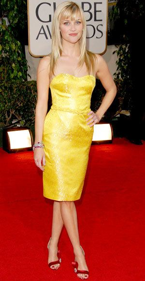 Reese Witherspoon - The Best Golden Globes Gown of All Time - Nina Ricci