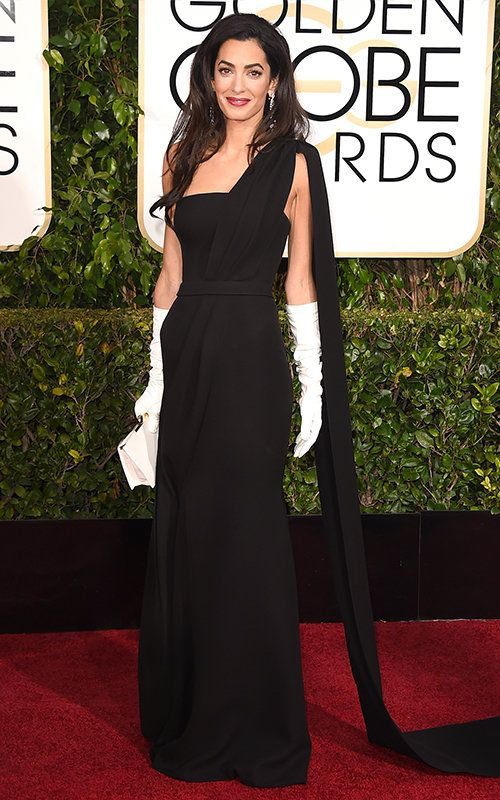 Amal Clooney in Christian Dior Haute Couture
