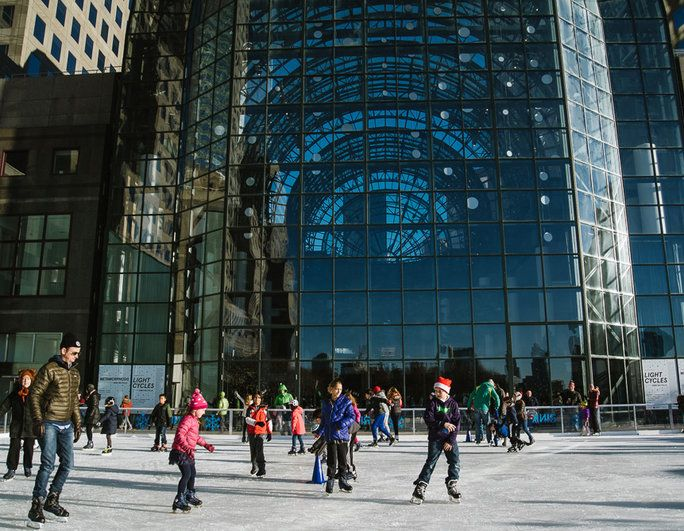 The Rink at Brookfield Place with Gregory & Petukhov