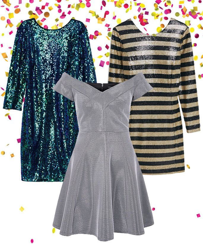 NYE Party Dresses - Lead