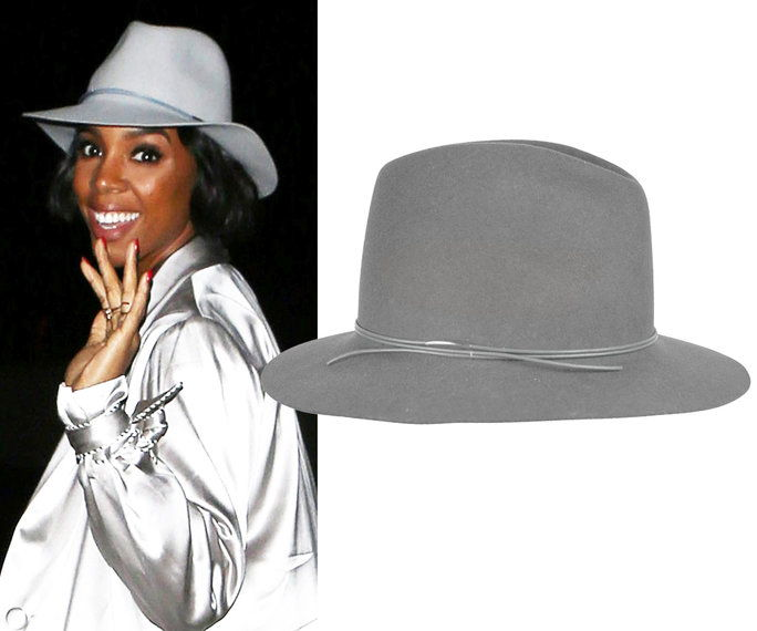 Kelly Rowland in Hat Attack hat