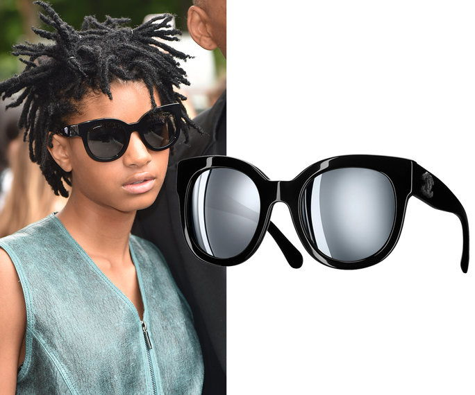 Willow Smith in Chanel sunglasses