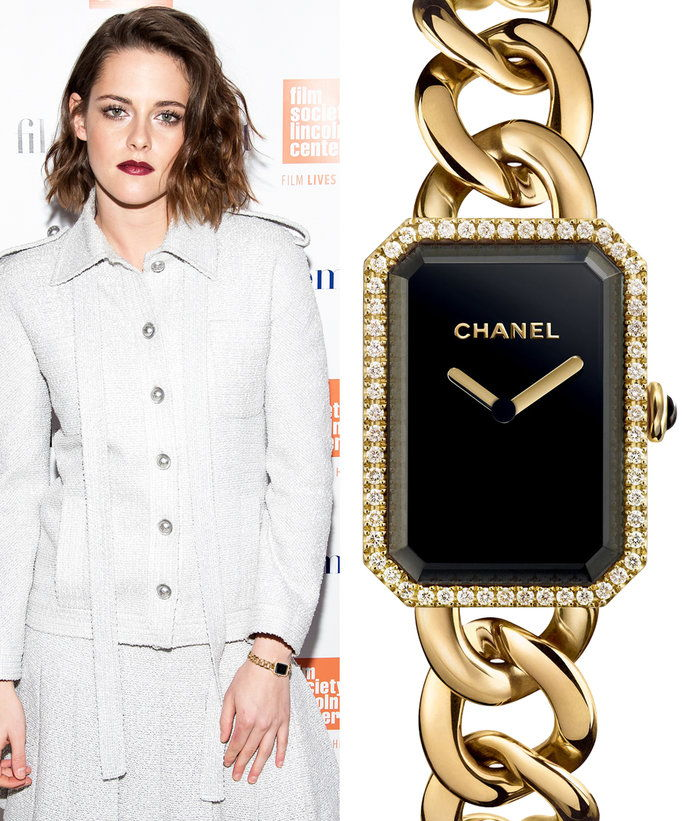 Kristen Stewart with Chanel watch