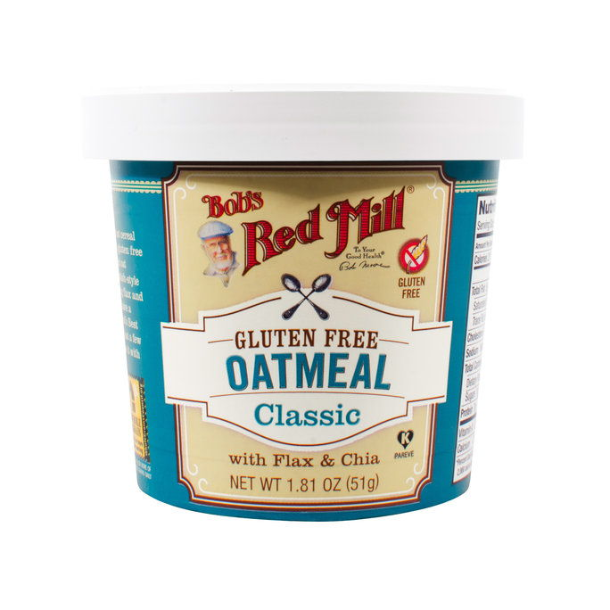 Bob Red Mill Gluten Free Oatmeal Cup
