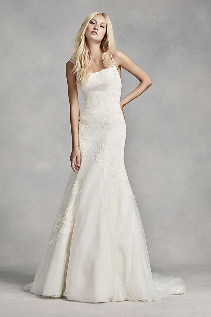 biely by Vera Wang Low-Back Wedding Dress