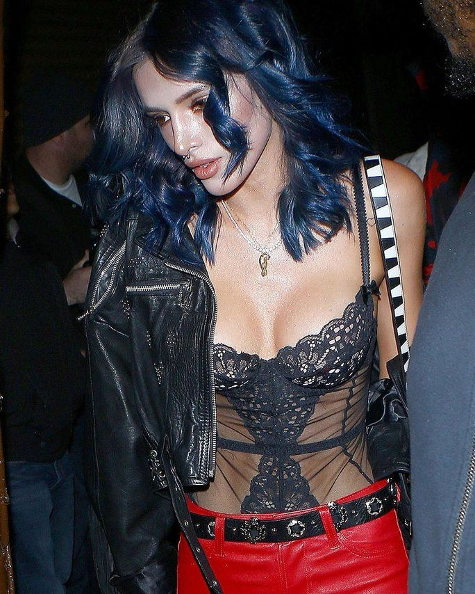 Bella Thorne's Blue Hair Dye Drama EMBED 1