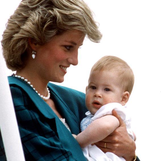 princ Harry, Princess Diana