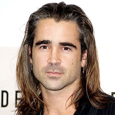 Colin Farrell - Transformation - Hair - Celebrity Before and After