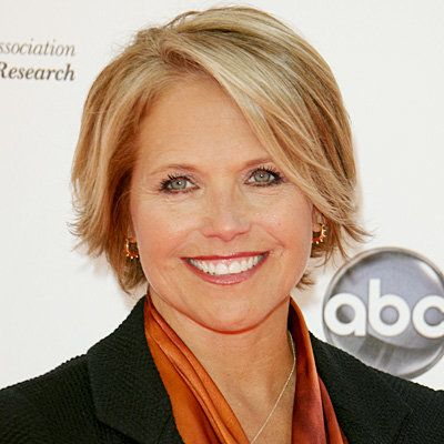 katie Couric - Transformation - Hair - Celebrity Before and After