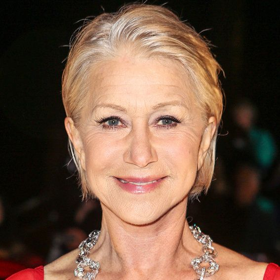 Helen Mirren - Transformation - Hair - Celebrity Before and After