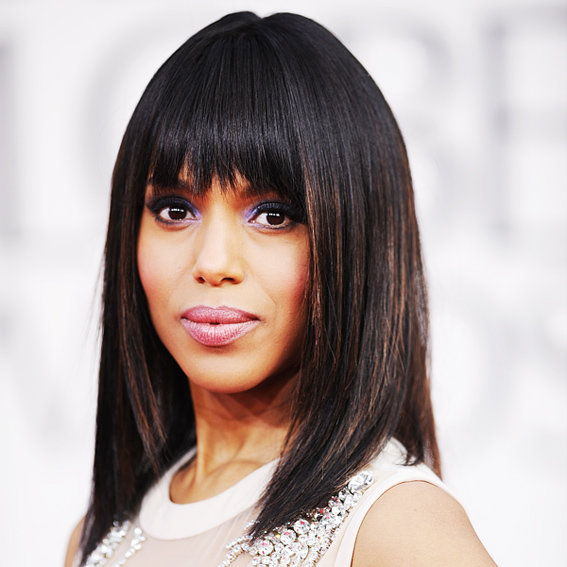Kerry Washington - Transformation - Hair - Celebrity Before and After