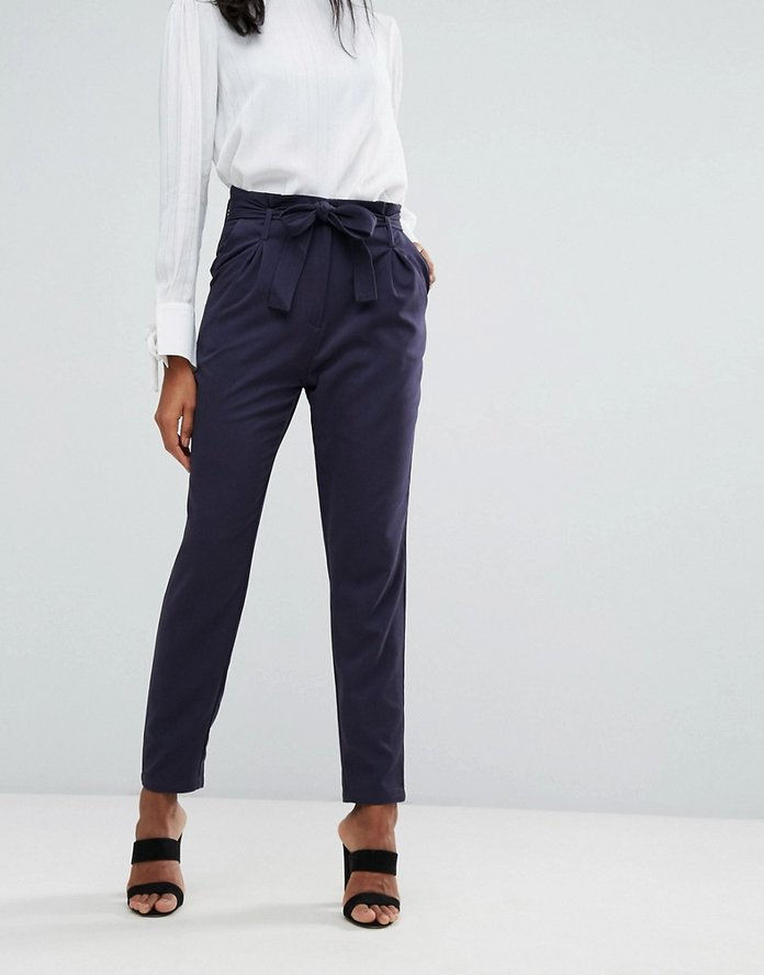 Y.A.S Paper Bag Waisted Pant