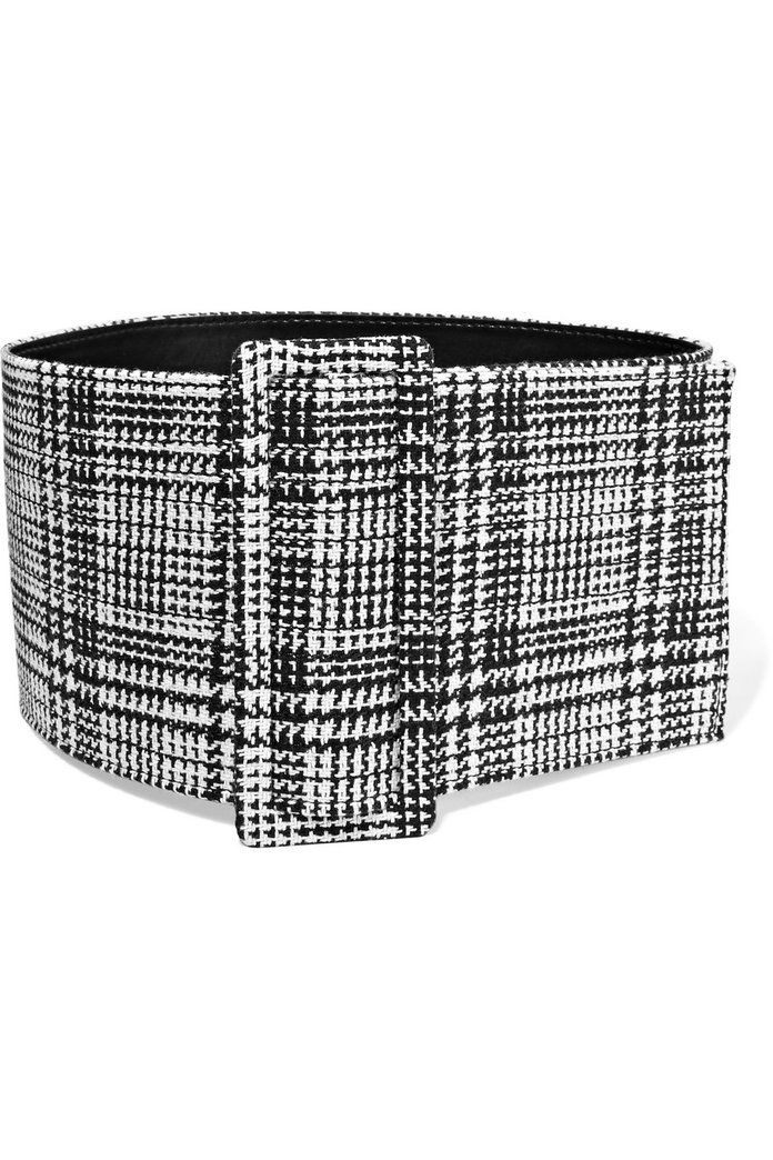 prin intermediul White Prince of Wales Checked Belt