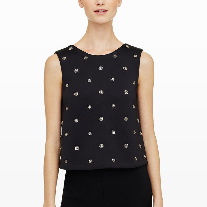 Perl Embellished Top