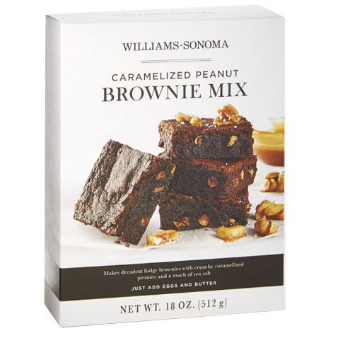 Williams Sonoma Caramelized Peanut Brownie Mix