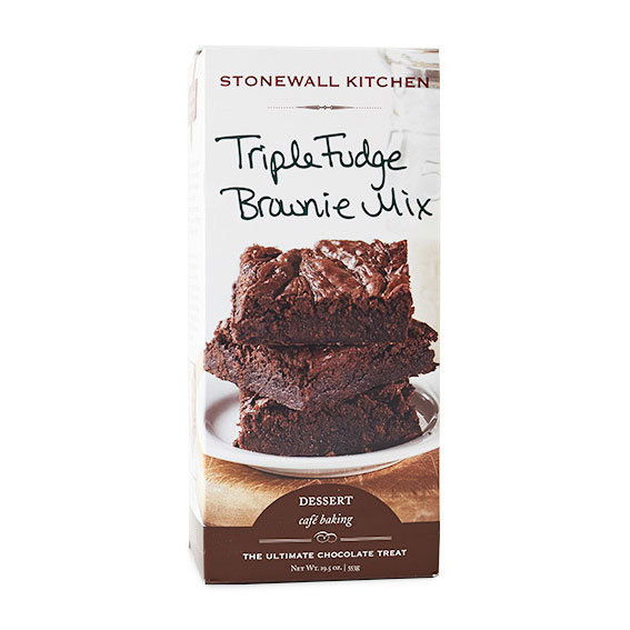 Dinding batu Kitchen Triple Fudge Brownie Mix