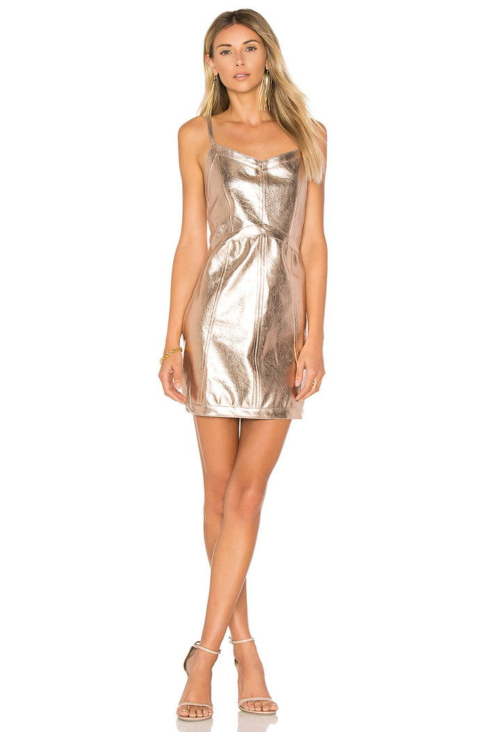 Luna Metallic Dress