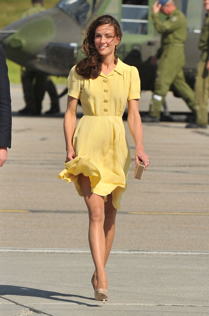 Kate Middleton Calgary airport embed