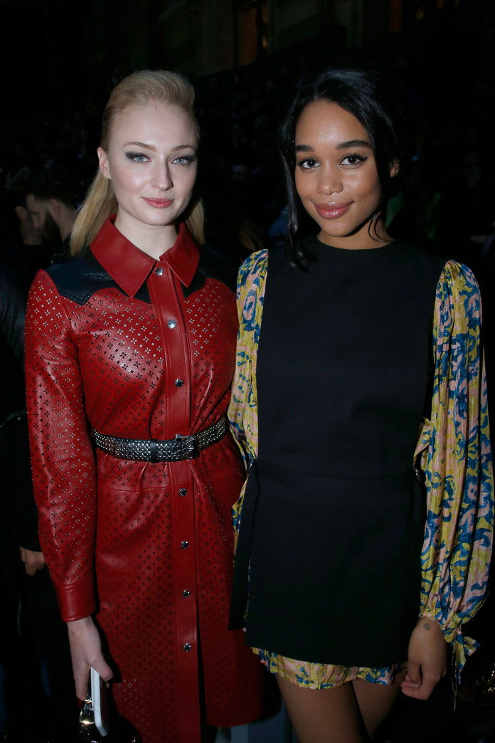Sophie Turner and Laura Harrier