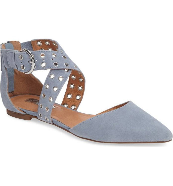 Molly Pointy Toe Flat