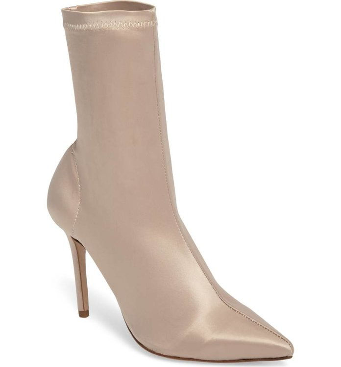 Tony Bianco Davis Stretch Satin Bootie