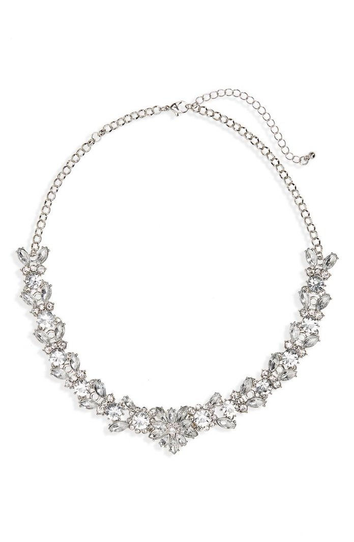 BP. Crystal Wreath Necklace