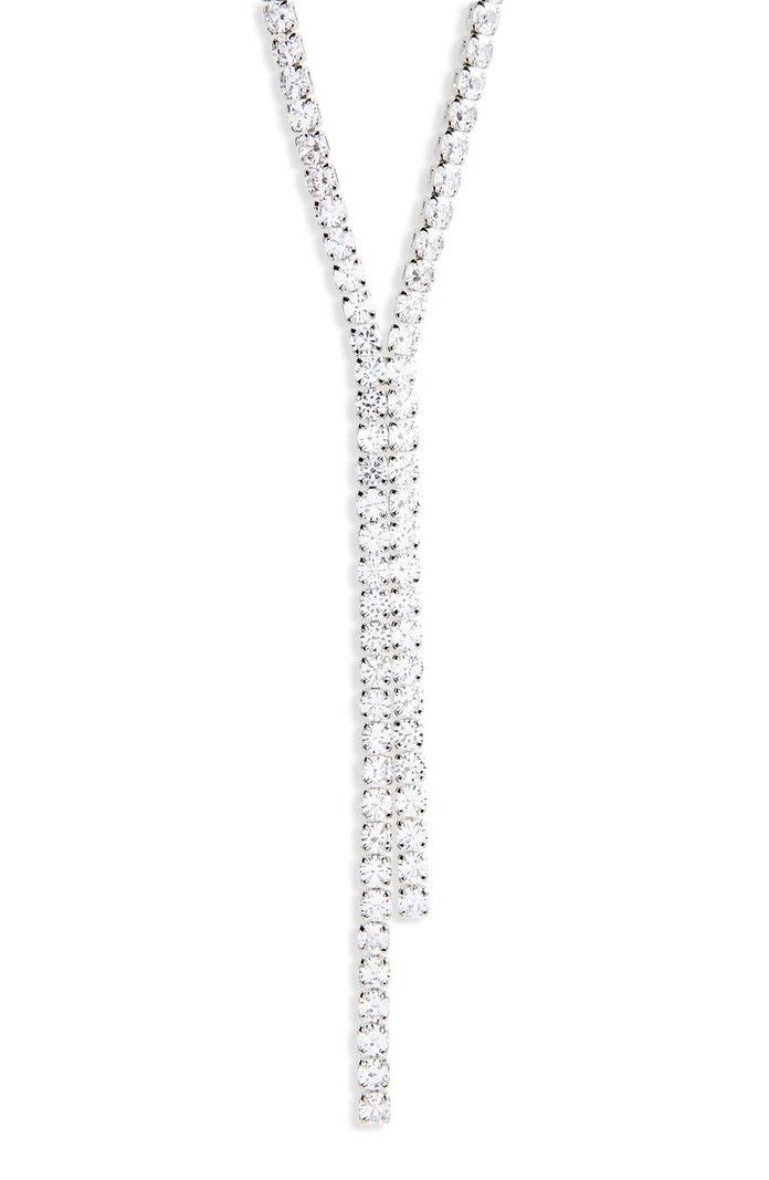 CRISTABELLE Crystal Y-Necklace