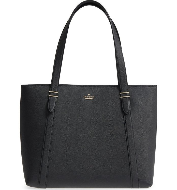 Dubové drevo Street Chandra Leather Tote