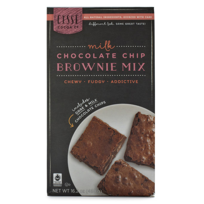 Cisse Trading Co. Milk Chocolate-Chip Brownie Mix
