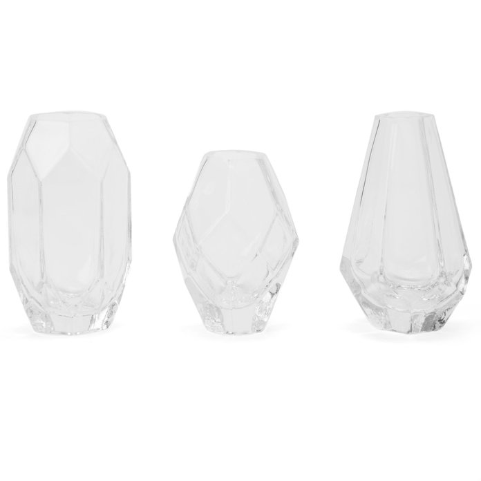 GEO TRIO GLASS VASE