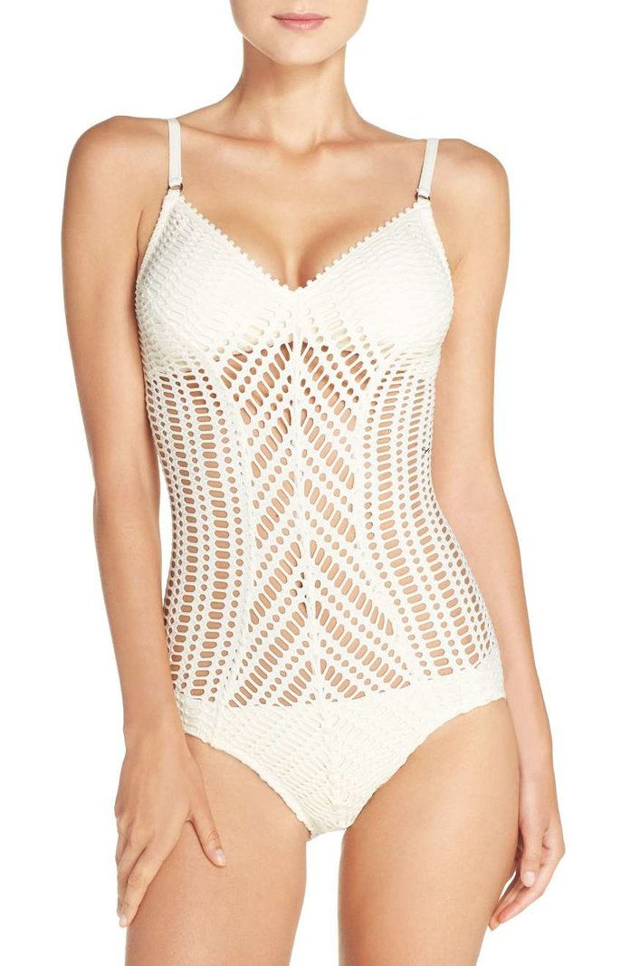 ROBIN PICCONE Sophia One-Piece Swimsuit